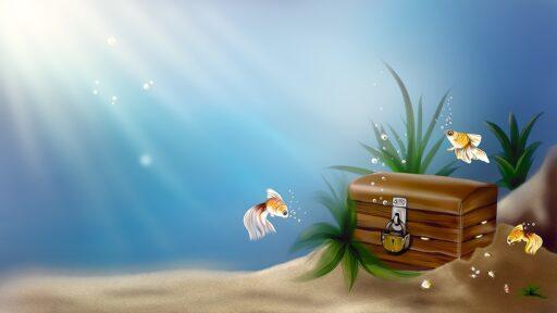 poklad v moři